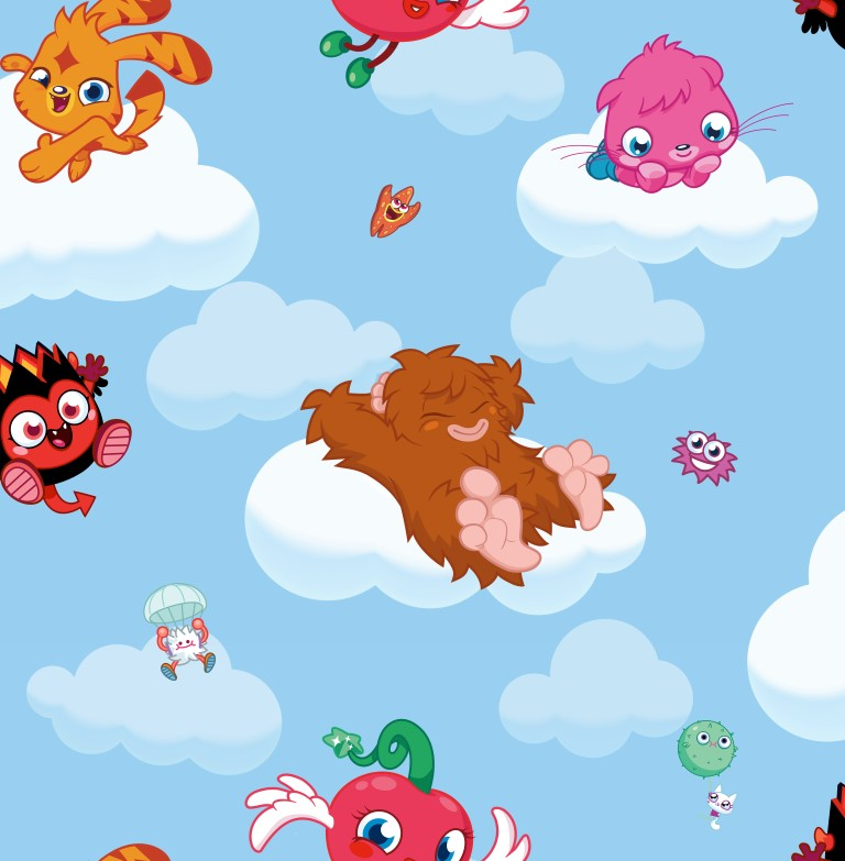 70-240 MOSHİ MONSTERS CLOUD RİDE